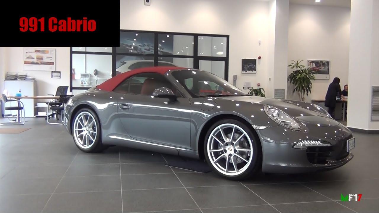 & NEW Porsche 991 Cabrio - Full Details roof in action u0026 more - YouTube memphite.com