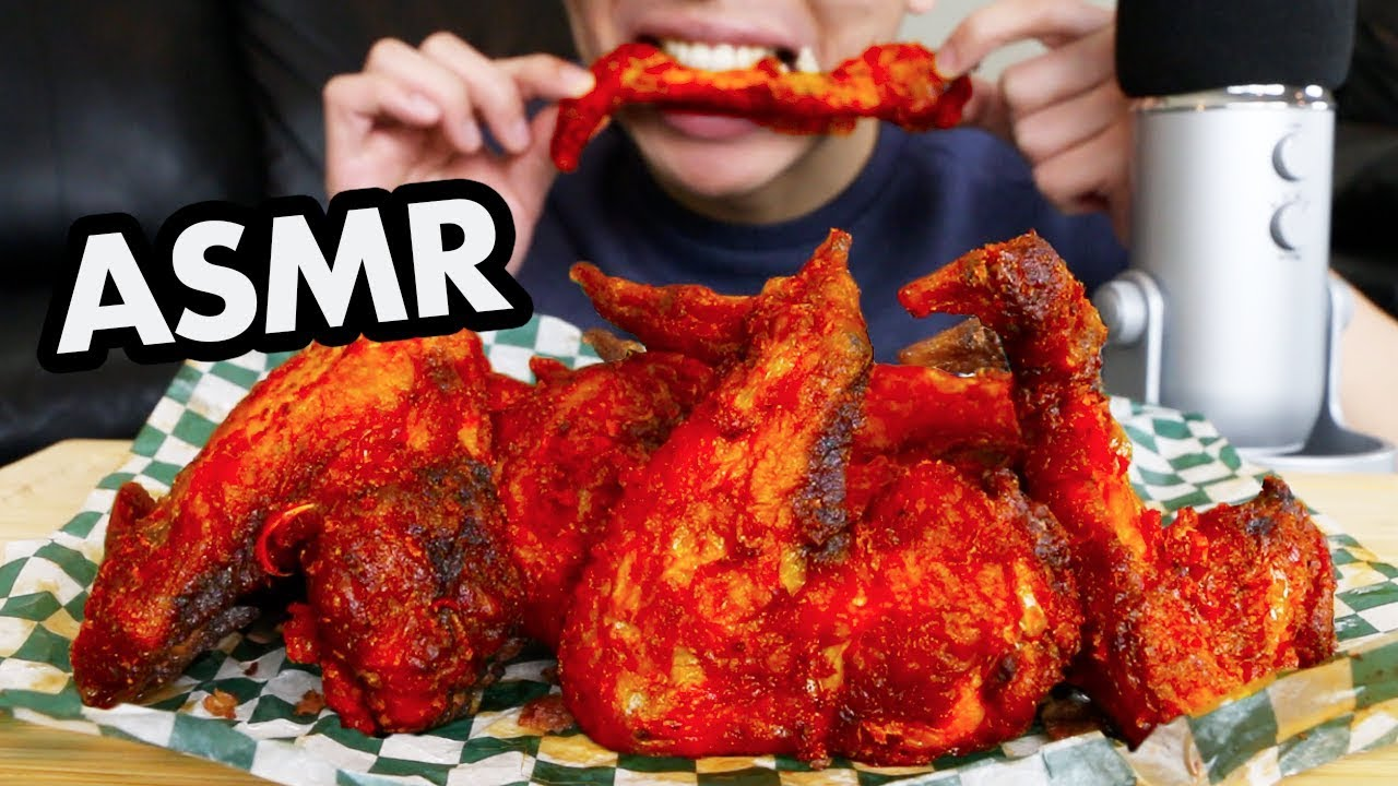 Asmr Buffalo Wings Mukbang Eating Sounds No Talking Asmr Chicken Wings Mukbang Eating Show