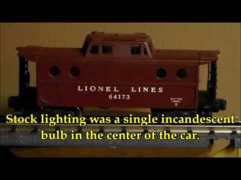 Lighted Lionel Porthole Caboose