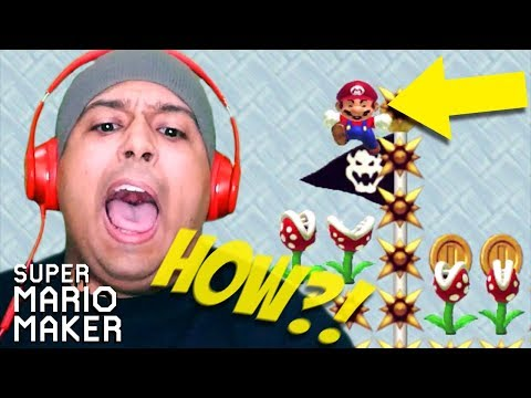OKAY THEY CAN'T BE SERIOUS WITH THIS!! [SUPER MARIO MAKER] [#175]