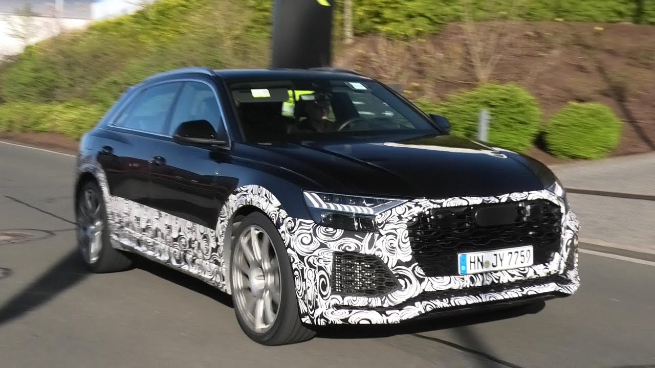 2020 Audi Rsq8 Spied Testing At The Nurburgring