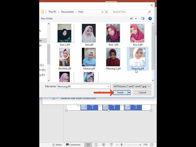 Tutorial Belajar Kursus Komputer Ms. PowerPoint Membuat SmartArt Hierarki pada Slide Presentasi