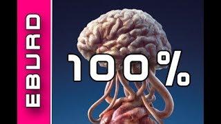 Das passiert wenn du dein Hirn zu 100 Prozent nutzen würdest