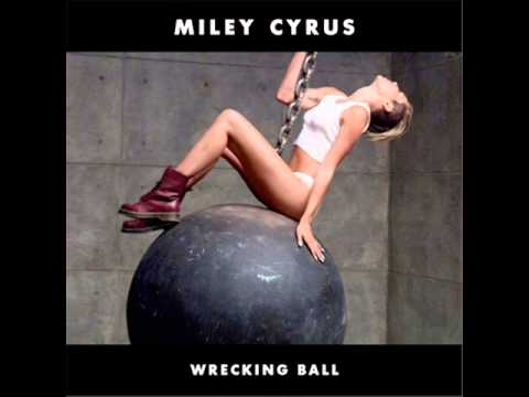Miley Cyrus - Wrecking Ball (Instrumental) (Piano Version)