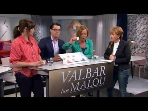 Valbar med Maria Arnholm (FP), Jimmie Åkesson (SD) och Åsa Romson (MP) - Malou Efter tio (TV4)