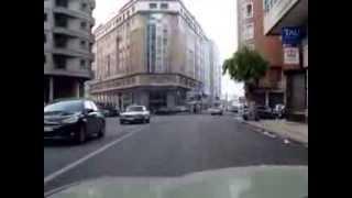 شارع فاس وسط المدينة طنجة 05 01 2014 morocco tangier