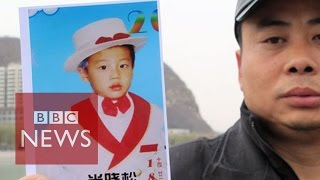 China: Father continues search for abducted son - BBC News
