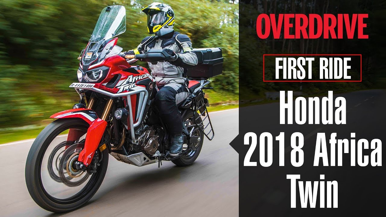 2018 honda africa twin first ride review details. Black Bedroom Furniture Sets. Home Design Ideas