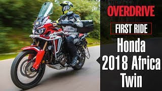 2018 Honda Africa Twin First Ride Review Details Specifications And Price Overdrive Youtube