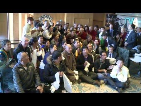 His Holiness the Dalai Lama speaking to Tibetan community in Perth, Australia