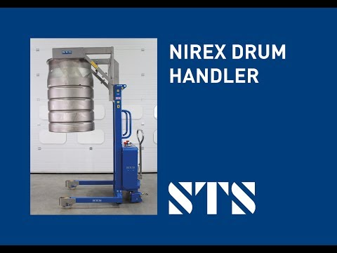 Nirex Drum Lifting And Stacking Equipment (Model: STE01-NLM01)