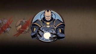 Битва с Титаном первая встреча (battle Shadow vs Titan)  - Shadow fight 2