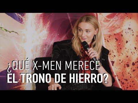 Sophie Turner responde: ¿Qué X-Men merece el Trono de Hierro de GoT?