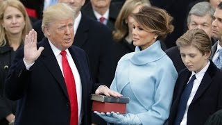 Donald Trump inauguration day – watch live thumbnail