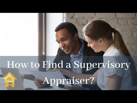 How Do Appraiser Trainees Find A Mentor?