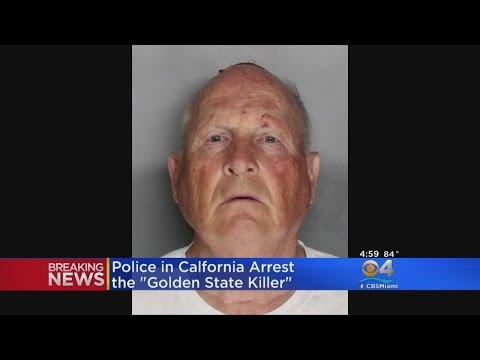 Police In California Arrest Suspect Known As The 'Golden State Killer'