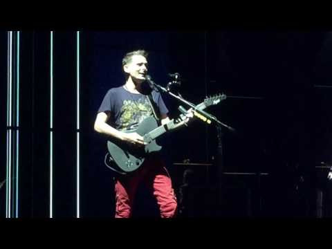 Map of the Problematique  Muse  in Toronto  Budweiser Stage 071817