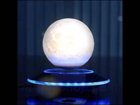 LUNAR™   FIRST WIRELESS CHARGING LEVITATING MOON LIGHT