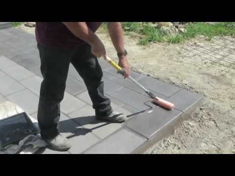 How To Seal Drycast Pavers With Premier Gloss Sealer