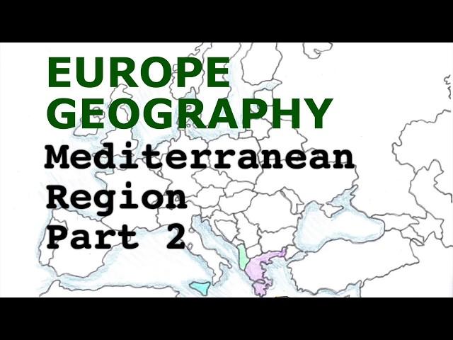 Europe Geography Song, Mediterranean Region Part 2