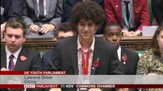 uk youth parliament debates 2016 morning session