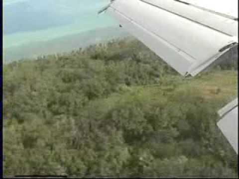 Yap Landing   Air Micronesia   Boeing B727-200