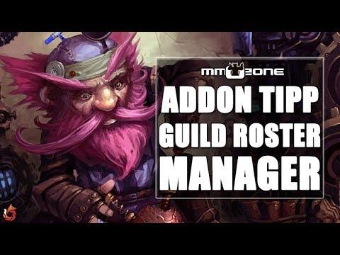 WoW Addon Tipp - Folge 17 - Guild Roster Manager [German/Deutsch]
