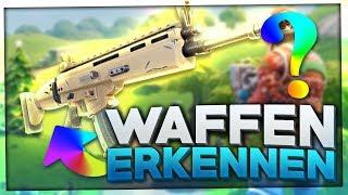Do YOU recognize these FORTNITE WAFFEN on 4 MERKMALEN? 🔫🎯 | Fortnite Battle Royale Quiz English