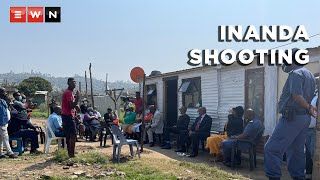Police Minister Bheki Cele visited Inanda after the drive-by shooting that occurred in the area which claimed three lives and injured five.   #InandaShooting