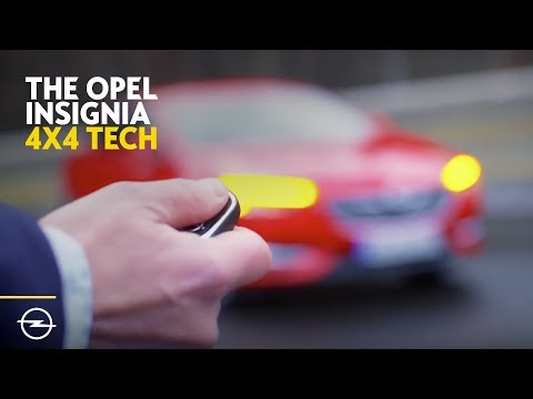 Opel Insignia Grand Sport | 4x4 with Torque Vectoring | Driving dynamics
