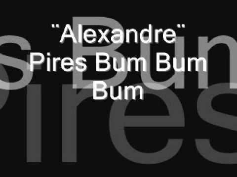 musica bum bum bum alexandre pires