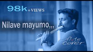 Nilave Mayumo   Minnaram   [ Flute Song ] By, Dileep babu . B