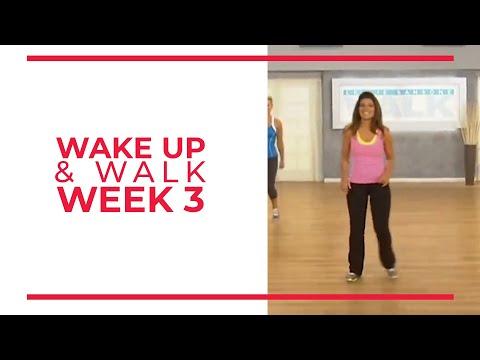 WAKE UP & Walk! Week 3 | Walk At Home YouTube Workout Series
