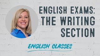 How to pass the writing section of an English exam | ABA English
