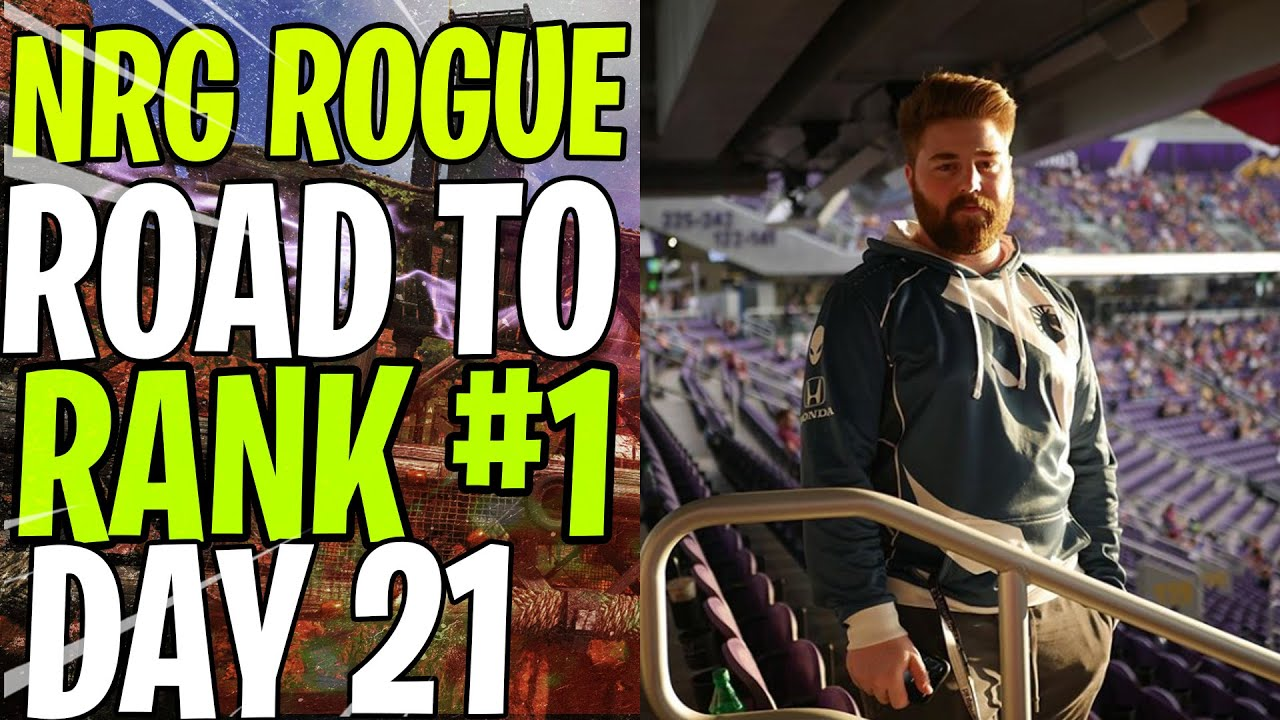 NRG ROGUE - ROAD TO RANK #1 DAY 21  - 1 vs EVERYBODY