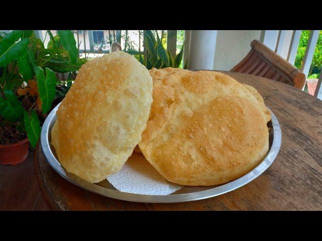 Resepi Roti Puri Paling Mudah Tanpa Yis Indian Food Youtube