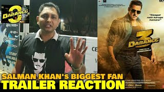 Salman Khan's Biggest Fan REACTION on Dabangg 3 Trailers | Haters Ki Bolti Band | Salman Khan