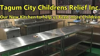 Our new Kitchen is nearly Finished Tagum City Childrens Relief