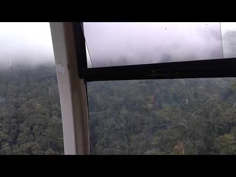 Malaysia Genting highland cable ride