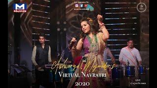 Virtual Navratri 2020 | Aishwarya Majmudar | Mantavya News | 2nd Nortu 🤍