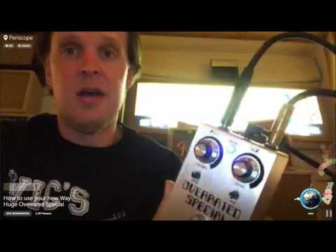 Bona-Scope Rewind - Joe Demonstrates the new Way Huge Overrated Special Pedal