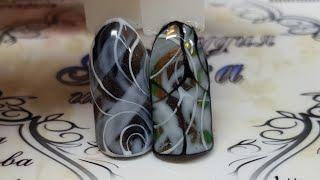 дизайн ногтей. Простой и быстрый дизайн ногтей. Дизайн ногтей для новичков