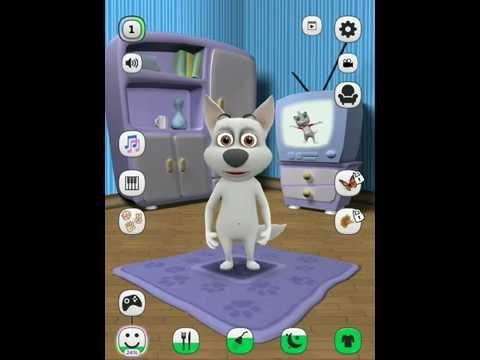 Говорящая Собака! Мой виртуальный питомец! Серия 2! Крутые танцы!
