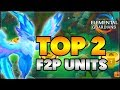 BEST F2P / FARMABLE UNITS IN MIGHT AND MAGIC: ELEMENTAL GUARDIANS