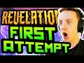 REVELATIONS FIRST ATTEMPT! BEST BOX LUCK EVER: Black Ops 3 Zombies Revelations Reaction Live