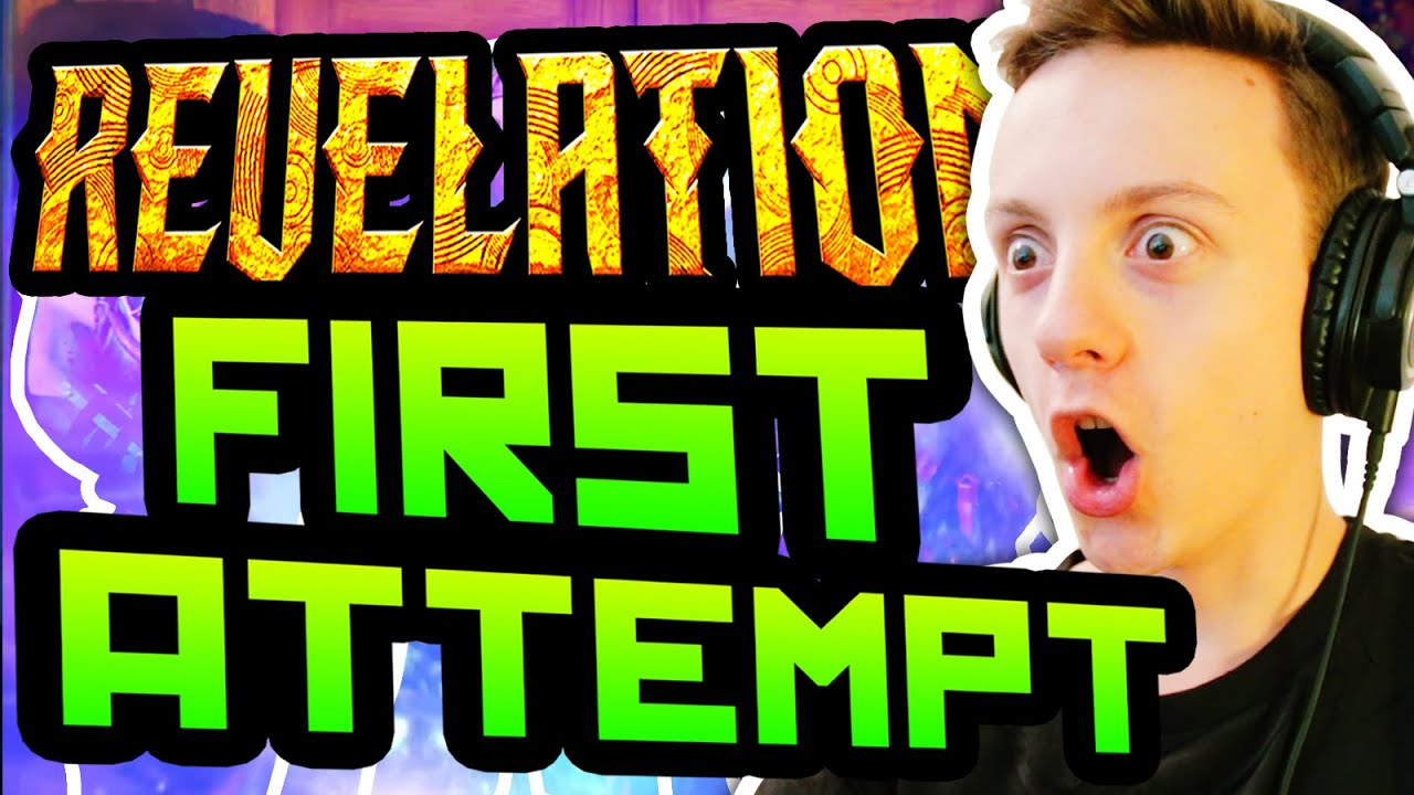 REVELATIONS FIRST ATTEMPT BEST BOX LUCK EVER Black Ops 3 Zombies