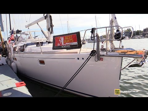 2017 Gunfleet 43 Sailing Yacht - Deck and Interior Walkaround - 2017 Annapolis Boat Show
