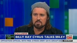 piers morgan to billy ray cyrus as a father did the twerking bother you