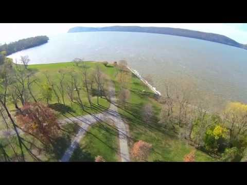 Aerial View Over Croton Point Park