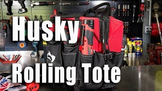 Husky 18 inch Rolling Tote Video Review